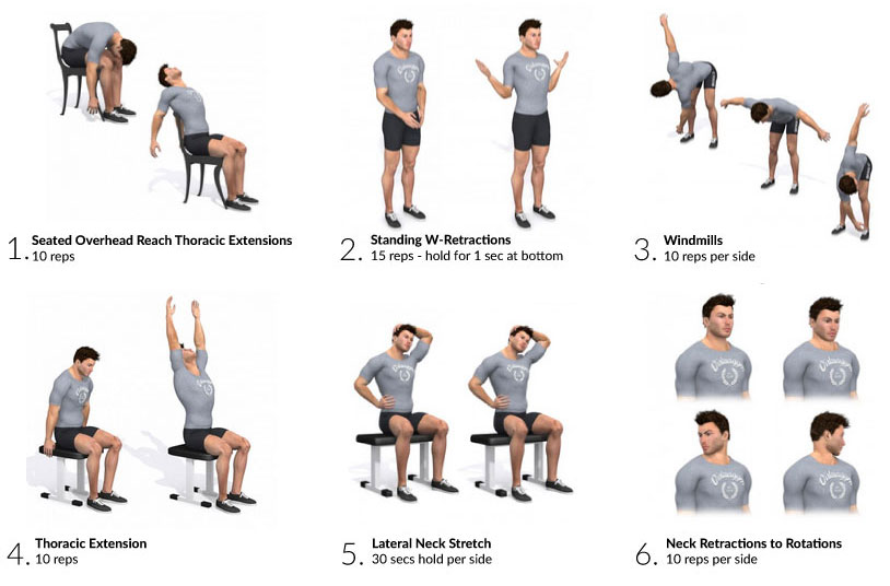 Desk Mobility Exercises